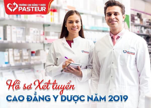 Hồ sơ xét tuyển cao đẳng y dược năm 2019