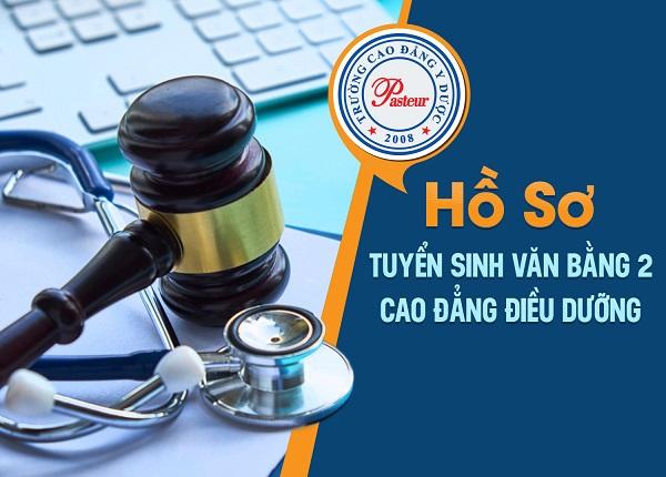 Hồ sơ tuyển sinh Văn bằng 2 Cao đẳng Điều dưỡng Pasteur TPHCM