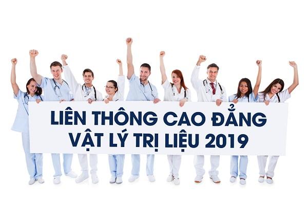 Thông báo tuyển sinh Liên thông Cao đẳng Vật lý trị liệu năm 2019