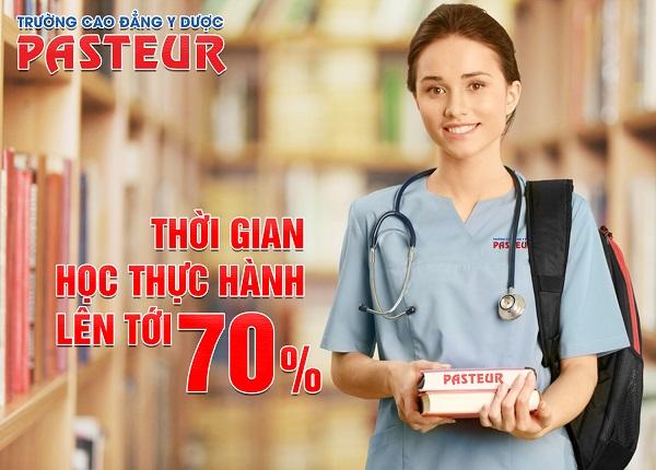 Thời gian học thực hành Cao đẳng điều dưỡng lên tới 70%