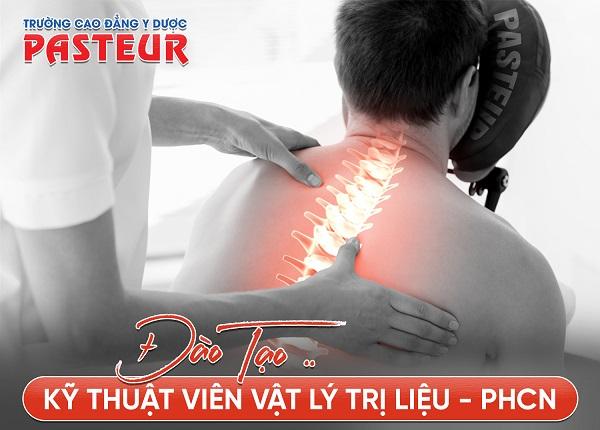 Đào tạo Kỹ thuật viên Vật lý trị liệu - Phục hồi chức năng tại TP.HCM