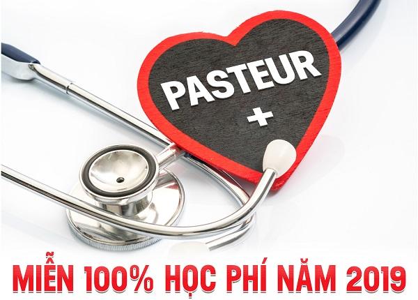 Trường Cao đẳng Y Dược Pasteur miễn 100% học phí năm 2019