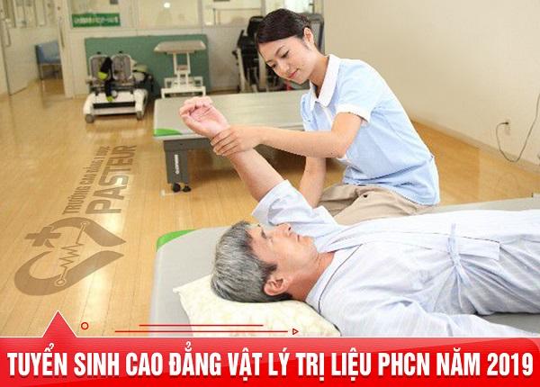 Tuyển sinh Cao đẳng Vật lý trị liệu - Phục hồi chức năng năm 2019