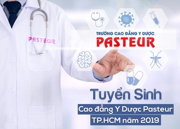 Tuyển sinh Cao đẳng Y Dược Pasteur TPHCM năm 2019