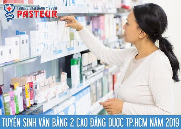 tuyen-sinh-van-bang-2-cao-dang-duoc-tphcm-2019