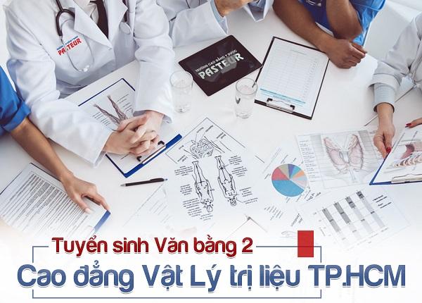 Đào tạo Văn bằng 2 Cao đẳng Vật lý trị liệu ngoài giờ hành chính tại TP HCM