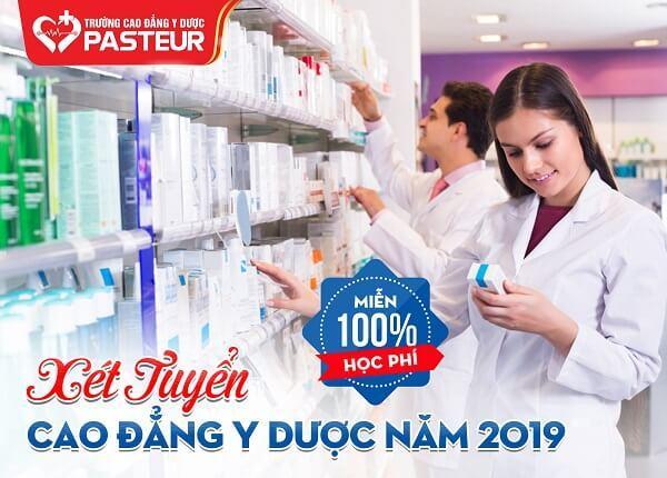Xét tuyển cao đẳng Y dược TPHCM năm 2019