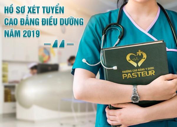 Hồ sơ xét tuyển Cao đẳng Điều dưỡng Pasteur năm 2019