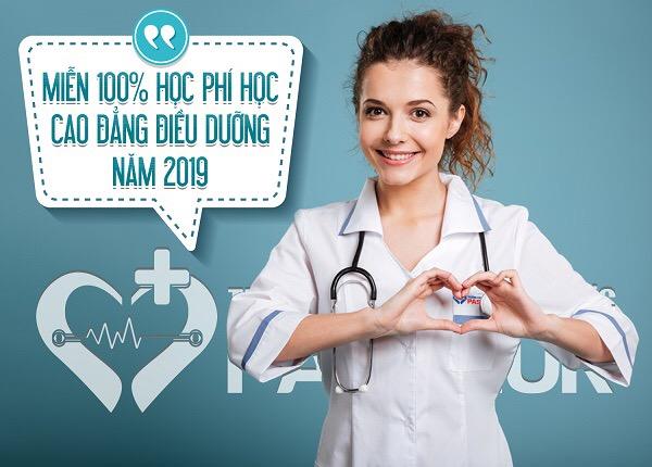 Miến học phí Cao đẳng Điều dưỡng TPHCM năm 2019