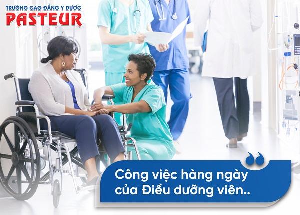 Công việc người Điều dưỡng viên vô cùng đa dạng và tiềm năng