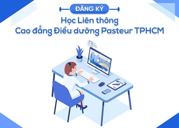 Đăng ký học Liên thông Cao đẳng Điều dưỡng Pasteur TPHCM
