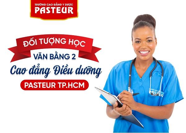 Đối tượng nào có thể học Văn bằng 2 Cao đẳng Điều dưỡng Pasteur TPHCM