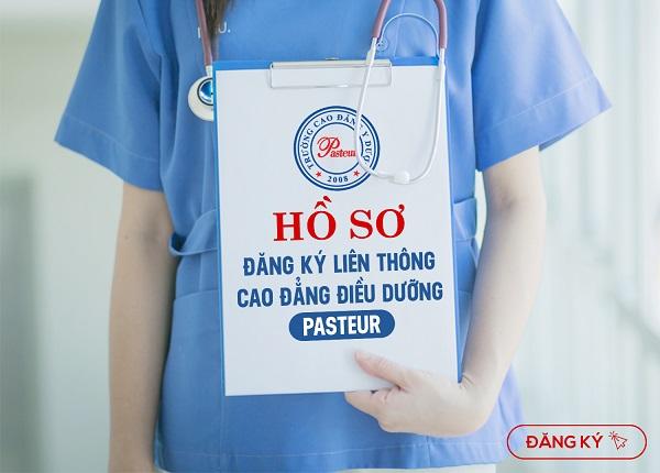 Hồ sơ đăng ký Liên thông Cao đẳng Điều dưỡng Pasteur TPHCM cần những giấy tờ gì?