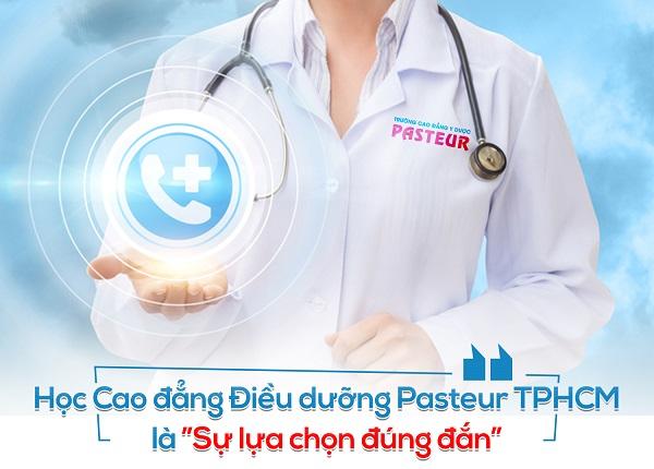 Học Cao đẳng Điều dưỡng Pasteur là sự lựa chọn đúng đắn
