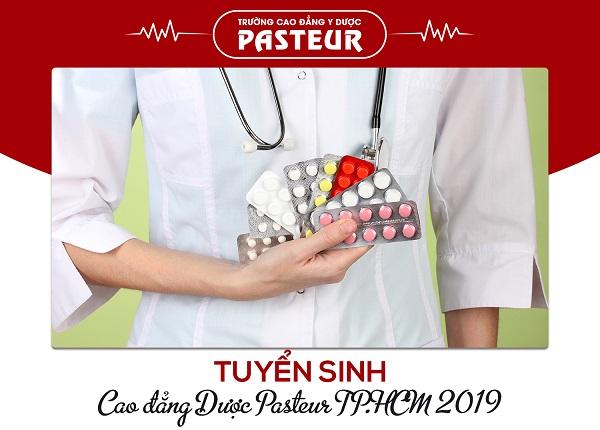 Tuyển sinh Cao đẳng Dược Pasteur TPHCM năm 2019
