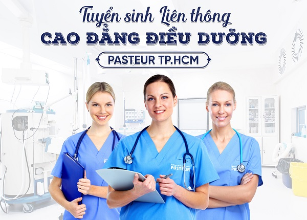 Thông báo tuyển sinh Liên thông Cao đẳng Điều dưỡng TPHCM năm 2019