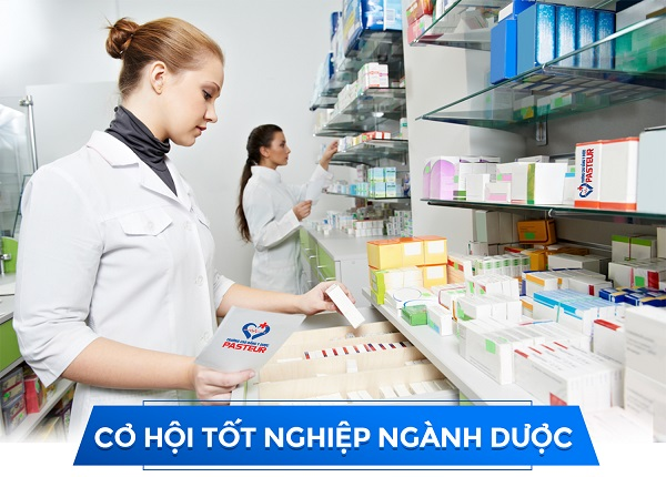 Cơ hội nghề nghiệp luôn rông mở đối với sinh viên Cao đẳng Dược TPHCM
