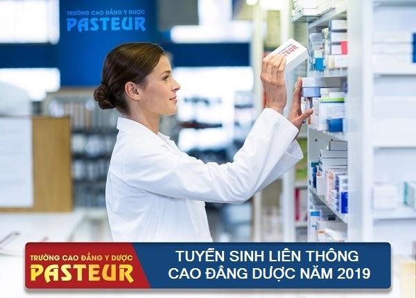 Cao đẳng Y Dược Pasteur tuyển sinh Liên thông Cao đẳng Dược năm 2019