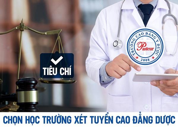 Học Cao đẳng Dược TP HCM tại Trường Cao đẳng Y Dược Pasteur