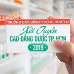 Thi khối nào đủ điều kiện học Cao đẳng Dược Pasteur TP HCM?