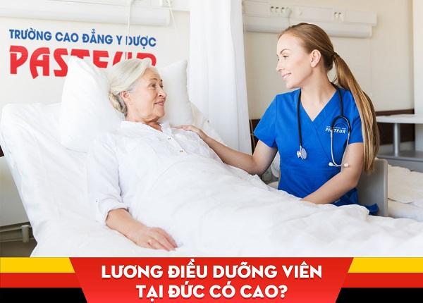 Lương điều dưỡng viên tại Đức