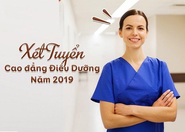 Tuyển sinh Cao đẳng Điều dưỡng TPHCM năm 2019 tăng cao