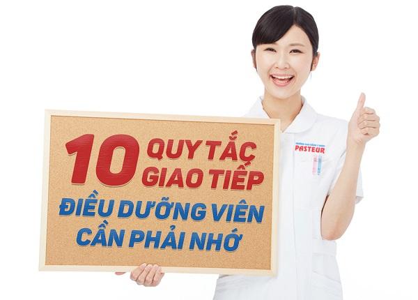 10 quy tắc giao tiếp Điều dưỡng viên cần phải biêt