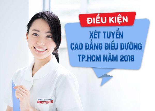 Tham khảo điều kiện xét tuyển Cao đẳng Điều dưỡng năm 2019