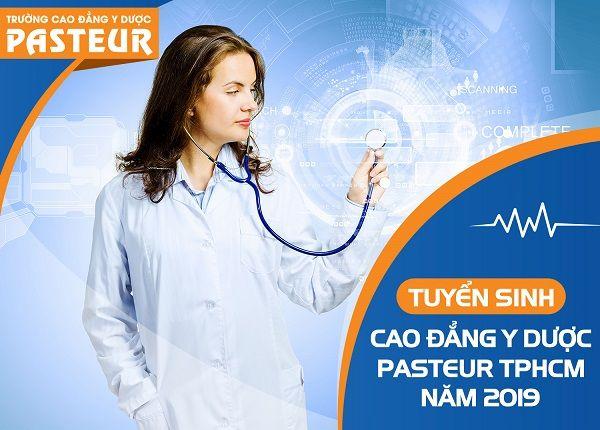 Trường Cao đẳng Y Dược Pasteur TP HCM công bố điểm chuẩn 2019