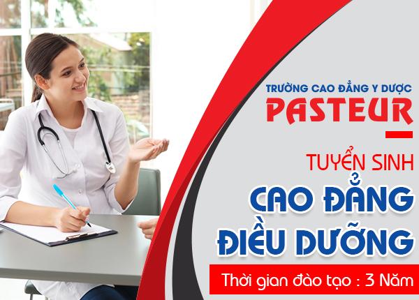 Trường Cao đẳng Y Dược Pasteur tuyển sinh Cao đẳng Điều dưỡng năm 2019