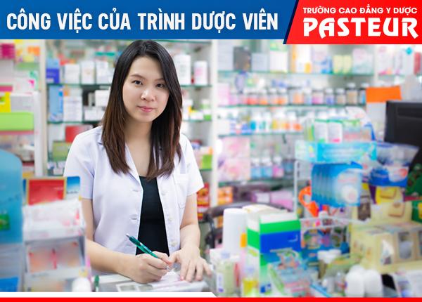 Trình Dược viên với công việc giới thiệu các loại thuốc mới