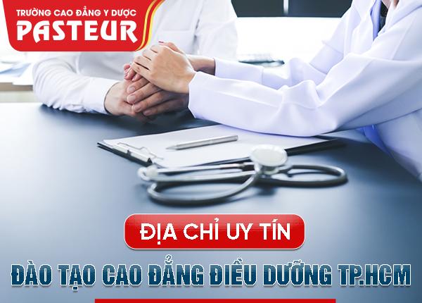 Địa chỉ học Cao đẳng Điều dưỡng TPHCM 2019 chất lượng cao