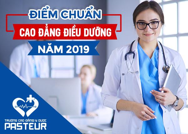 Mức điểm chuẩn Cao đẳng Điều dưỡng năm 2019 là bao nhiêu?