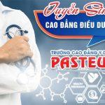 Xét tuyển Cao đẳng Điều dưỡng Pasteur TP HCM năm 2019