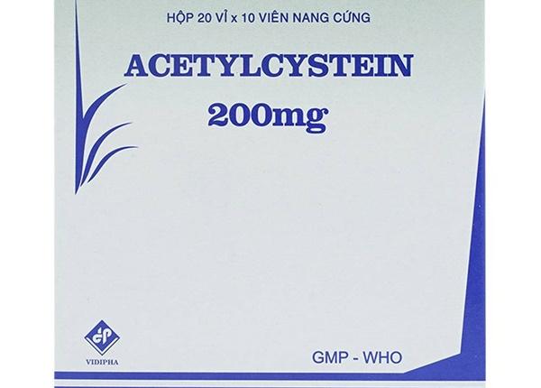 Thành phần thuốc Acetylcystein là gì?