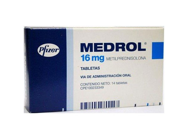 Hình ảnh thuốc Medrol 16mg
