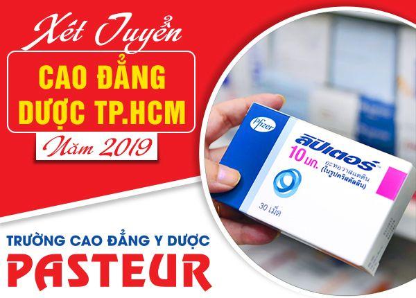 Học ngành Dược tại Trường Cao đẳng Y Dược Pasteur năm 2019