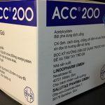 Thuốc acc 200® – công dụng và liều dùng