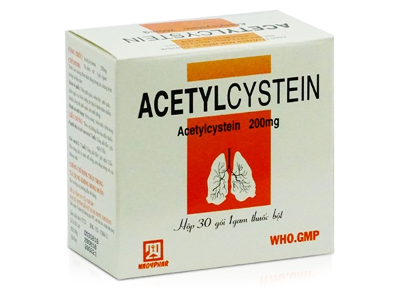 Hướng dẫn sử dùng thuốc Acetylcystein