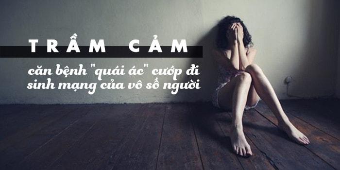Trầm cảm là căn bệnh gây ra nhiều biến chứng nguy hiểm
