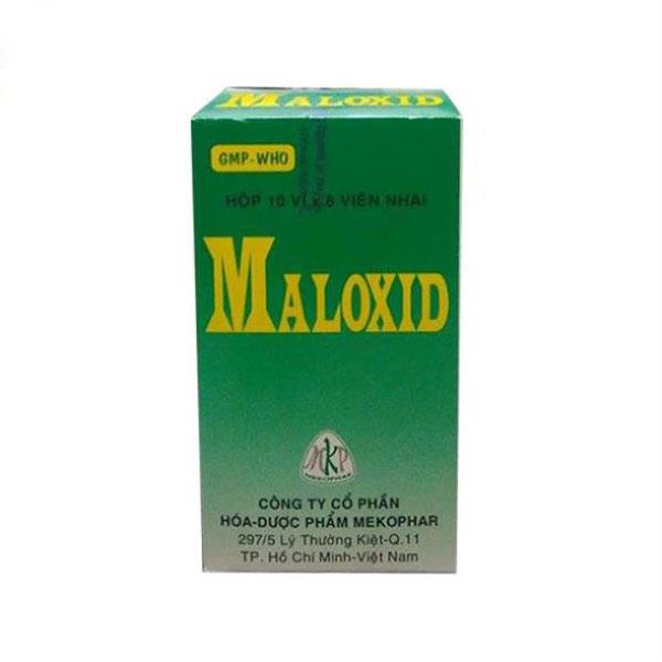 Maloxid - Thuốc trị bệnh dạ dày hiện nay