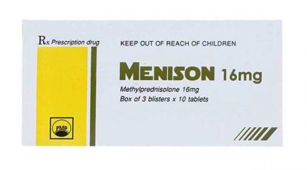 Menison là loại thuốc gì?