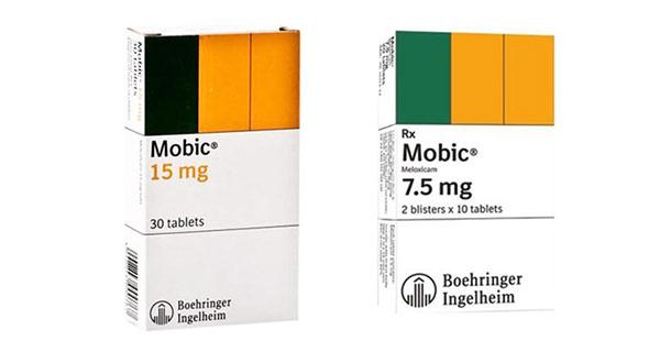 Công dụng của thuốc Mobic