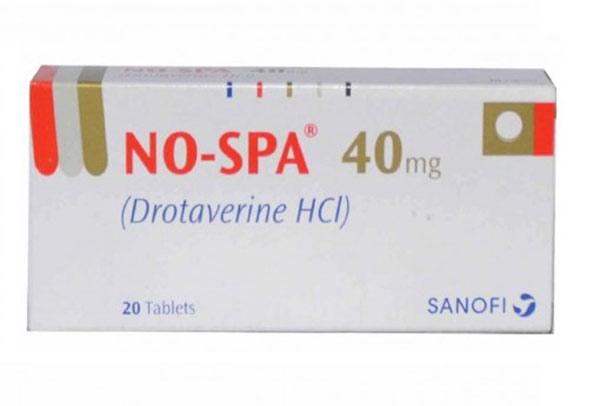 NoSpa có thể gây nên hiện tượng tim đập nhanh, hoa mắt, chóng mặt, buồn nôn