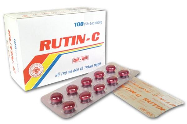 Rutin C là thực phẩm chức năng