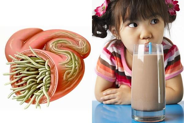Trẻ nhỏ thường là đối tượng dễ bị nhiễm giun nhất