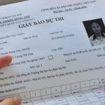 Thời gian nhận giấy báo dự thi thpt quốc gia năm 2019