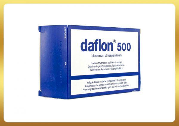 Thuốc daflon 500mg được sử dụng trong điều trị bệnh suy tĩnh mạch và bệnh trĩ