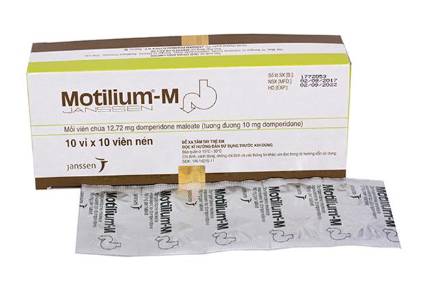Lưu ý khi sử dụng thuốc Motilium M theo ý kiến bác sĩ