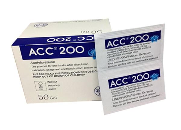 Sử dụng thuốc ACC-200® đúng cách?